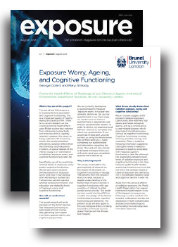 Exposure Worry, Ageing, and Cognitive Functioning