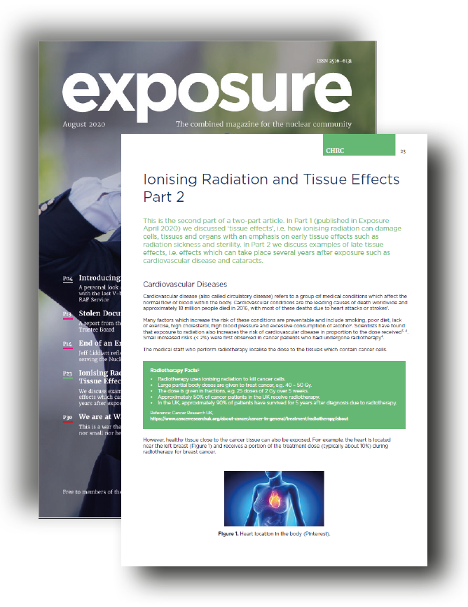 Ionising Radiation and Tissue Effects Part 2